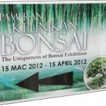 Pameran Keunikan Bonsai
