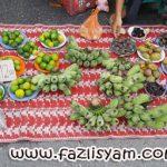 Jualan Sayuran Kampung di Pekan Sehari Temerloh